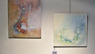 Two artworks of the artist Junko O'Neill in the Contemporary Visions Festival